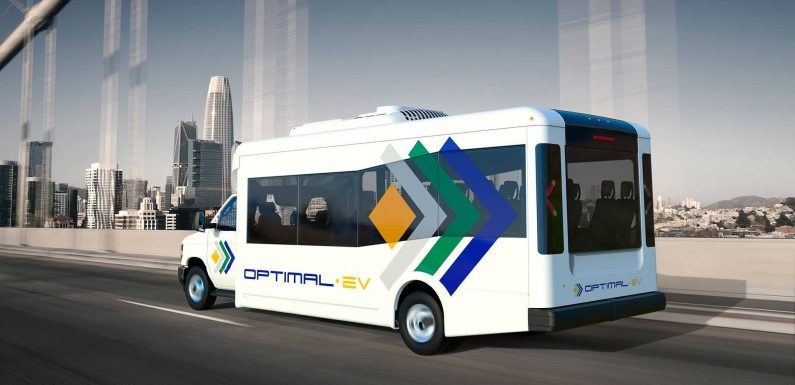 Optimal-EV Announces Low-Floor Shuttle Bus Powered By Proterra