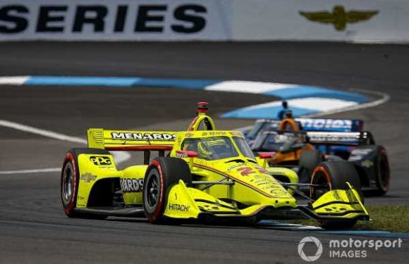 """Pagenaud drove GP Indy """"with the lion's spirit"""""""