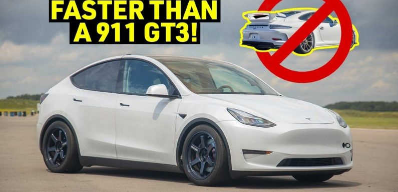 Modified Tesla Model Y Track Test: Is It The World's Fastest SUV?