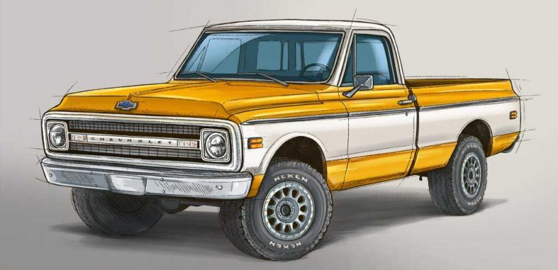 Win this 1970 Chevrolet C10 Restomod as Part of Fix-a-Flat's 50th Anniversary Celebration