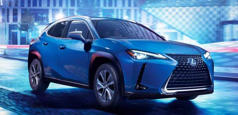New 2021 Lexus UX 300e electric SUV on sale now with 196-mile range