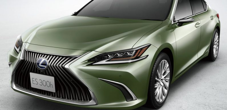 2020 Lexus ES in Japan – lithium-ion battery for hybrid, Apple CarPlay, Android Auto, improved safety – paultan.org