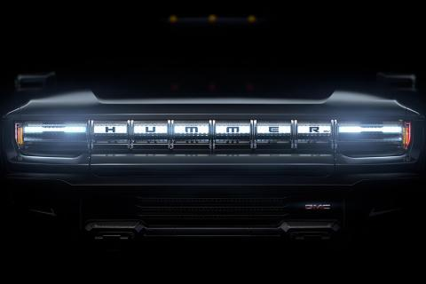 GMC Hummer electric SUV and truck teased