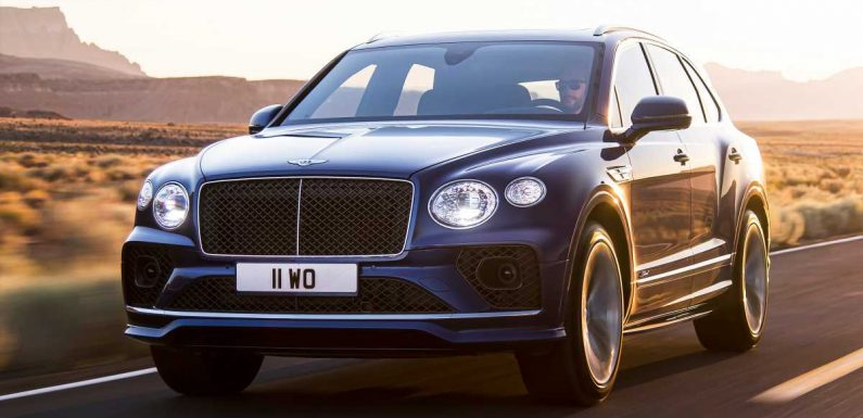 190mph Bentley Bentayga Speed SUV updated for 2020