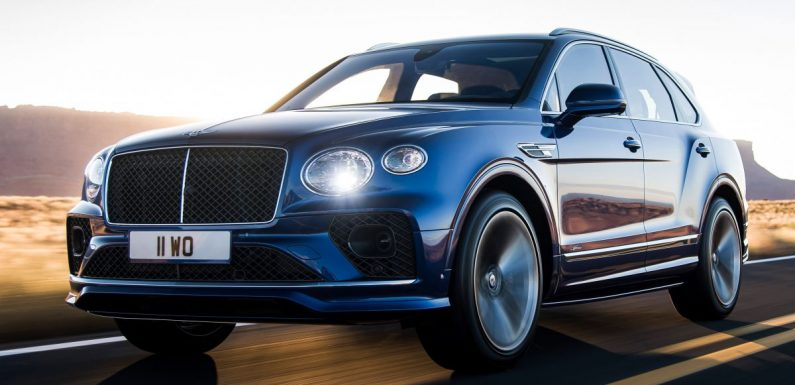 Bentley Bentayga Speed facelift debuts with 635 PS and 900 Nm – remains the fastest SUV in the world – paultan.org