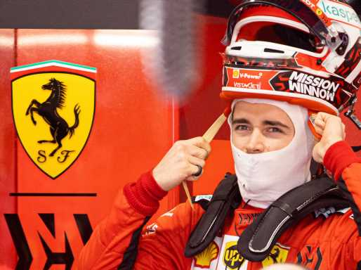 Charles Leclerc 'very happy' with result and car