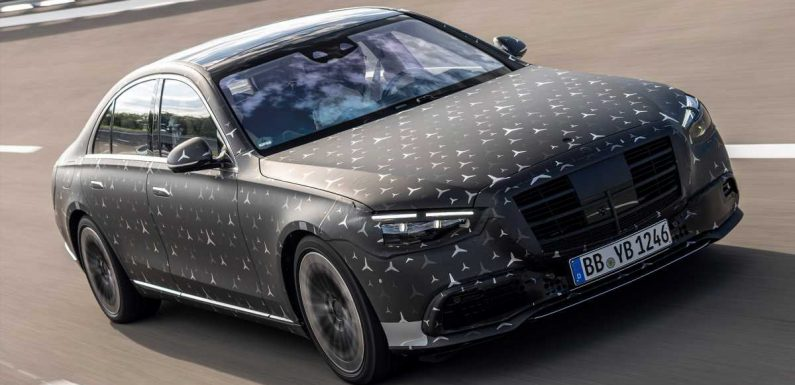 New 2020 Mercedes S-Class: tech secrets revealed
