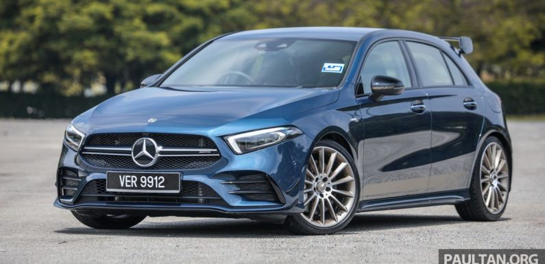 GALLERY: W177 Mercedes-AMG A35 4Matic Edition 1 hatchback – from RM367k; 2.0L turbo; 306 PS, 400 Nm – paultan.org