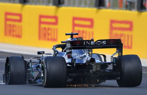 DAS played no role in Mercedes' tyre blowouts