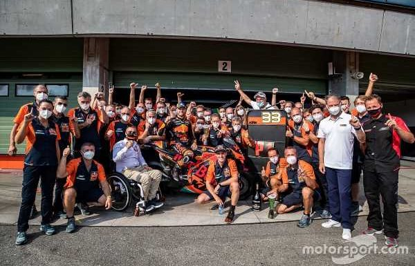 KTM says first MotoGP race win didn't come 'by accident'