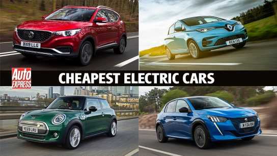 The cheapest electric cars on sale