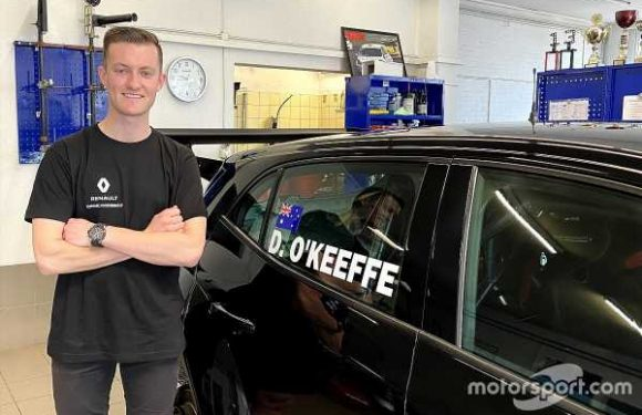Aussie lands in Europe for TCR test