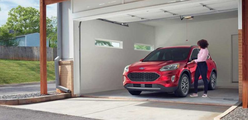 Ford Kuga/Escape PHEV Sales Halted For Fire Risk: Owners Told Not To Charge