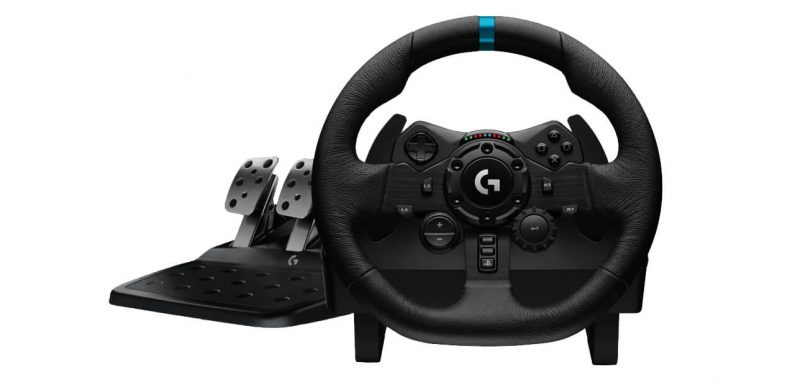 Logitech Reveals G923 Wheel for PlayStation and Xbox