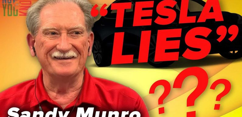 Sandy Munro Says Tesla Lies To Surprise Its Competitors