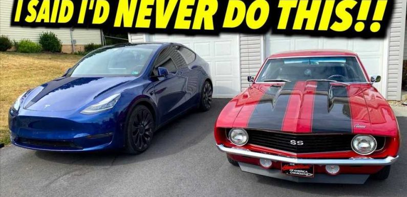 Will This Guy Sell His '69 Chevy Camaro To Buy A Tesla Model Y?