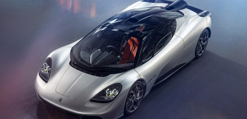 Gordon Murray Debuts the $3 Million USD McLaren F1-Inspired T.50