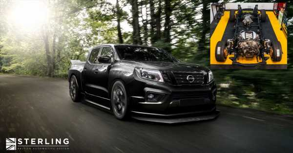 Here's How The 1000bhp, GT-R-Engined 'Nissan Navara-R' Is Shaping Up