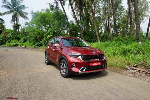 New Kia Sonet 2020: 90 observations after 1 day of driving
