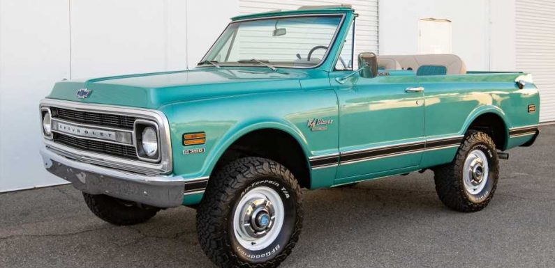 The Market Value of This $87,500 1970 Chevy K5 Blazer Went Up 157 Percent Since Last Year