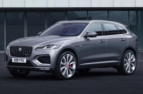 Jaguar F-Pace facelift unveiled; gets plug-in hybrid option