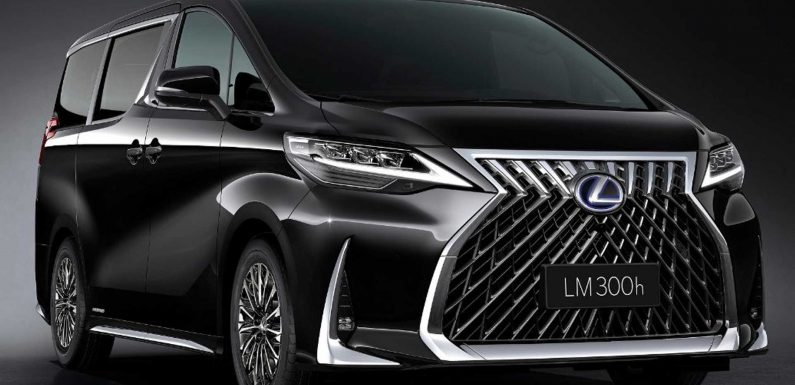 Ultra-Luxurious Lexus LM Minivan Costs Up To $215K In China