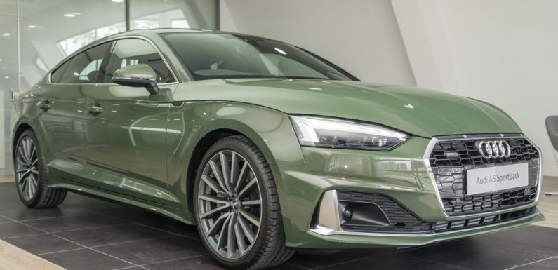 2020 Audi A5 Sportback facelift previewed in M'sia – 190 PS 2.0 TFSI and 249 PS quattro, now with AEB – paultan.org