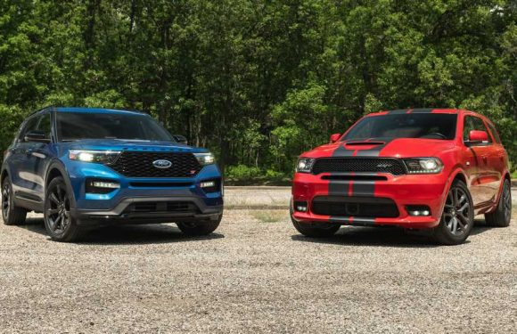 Dodge Durango SRT vs. Ford Explorer ST: Domestic SUV Comparison!