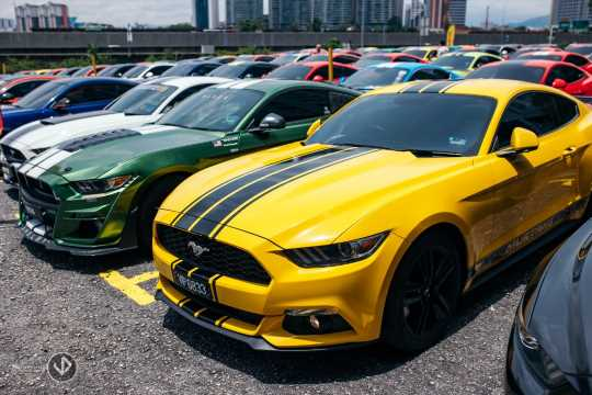 137 Ford Mustang gathering in Malaysian Record Book – paultan.org