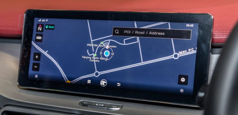 Proton X70 to get Here Maps, QDLink phone mirroring via OTA update this month, replaces Baidu Maps – paultan.org
