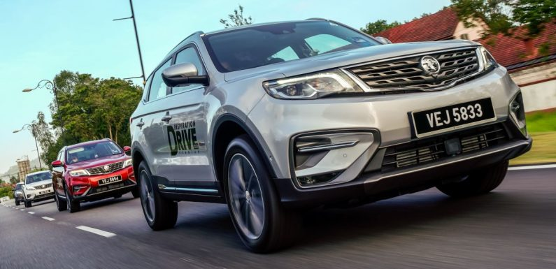 2020 Proton X70 SUV exported from Malaysia to Brunei – paultan.org