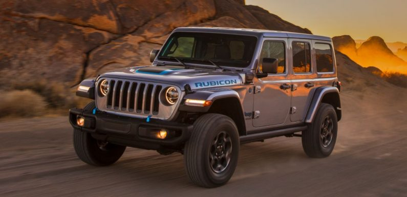 2021 jeep wrangler 4xe debuts - 375 hp/637 nm 2.0l turbo