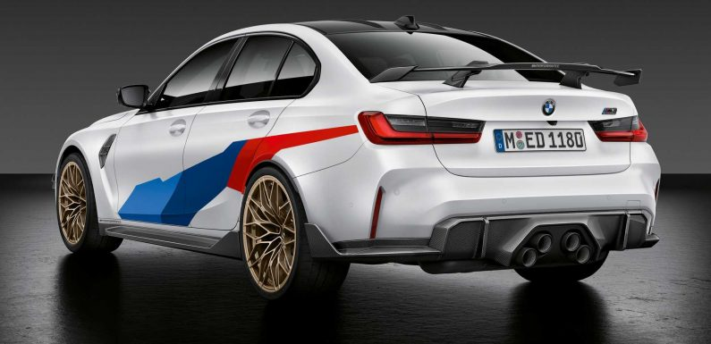 2021 BMW M3 And M4 Gain Center Exhaust And Other M Performance Parts