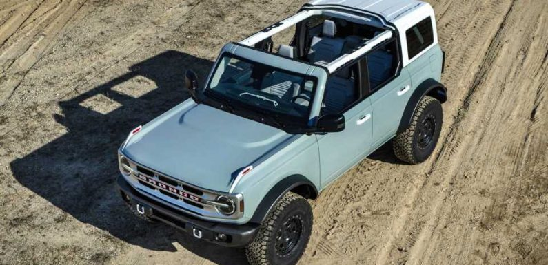Ford Explains Why V6 Bronco Is Not Getting A Manual Gearbox