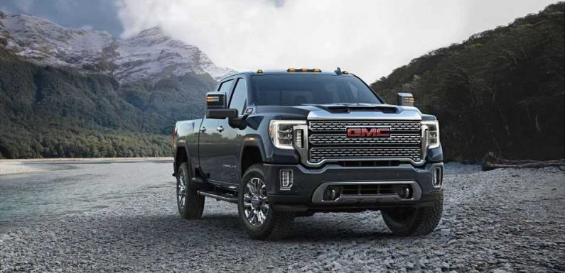 GMC drops price on 2021 Sierra pickup turbodiesel, adds trailering features