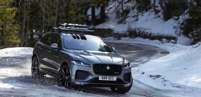 The 2021 Jaguar F-Pace Electrifies for Fall