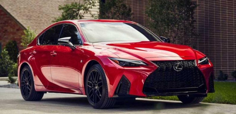 2021 Lexus IS Starts At $39,000, IS 350 F Sport Asks $42,900