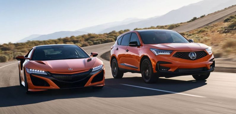 2021 Acura RDX Gets Amped (and Orange) With PMC Treatment