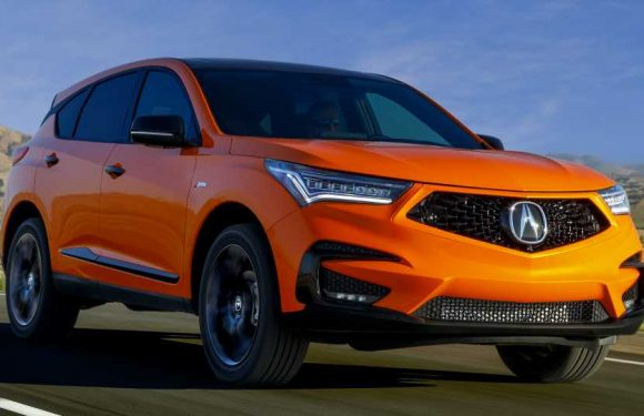 2021 Acura RDX PMC Edition Looks Like McLaren Built an Orange Crossover