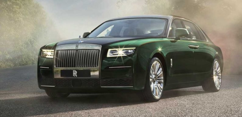 2021 Rolls-Royce Ghost Extended Has Extra Rear-Seat Luxury