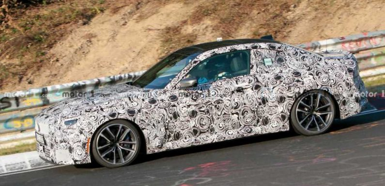 New BMW 2 Series Spied At The Nurburgring In M Performance Guise