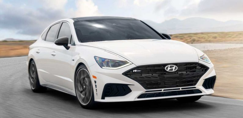The 2021 Hyundai Sonata N Line Will Only Make You Look Faster