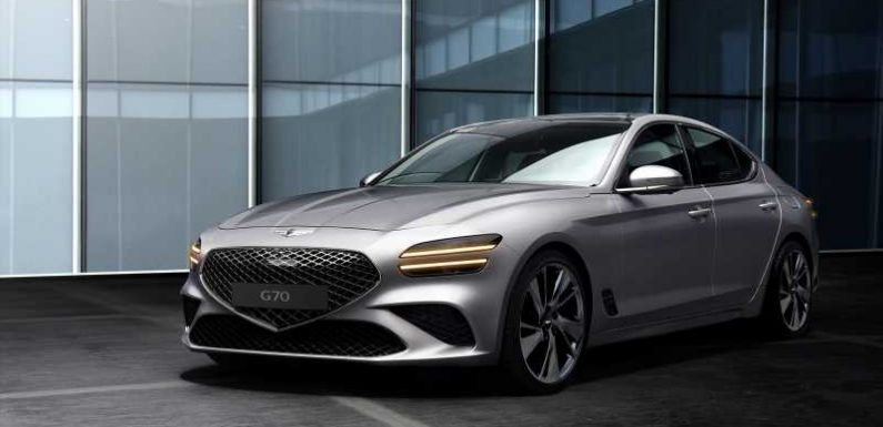 2022 Genesis G70 Refresh Gets the Family Crest