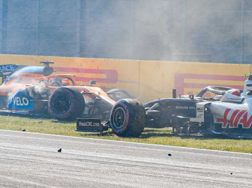 Tuscan Grand Prix restart crash 'poor from all involved' | Planet F1