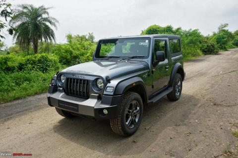 New Mahindra Thar 2020: 55 review observations