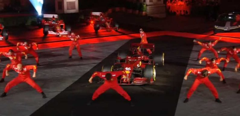 The Internet Is Having a Great Time With Ferrari's Bizarre 1,000th GP Dance Performance