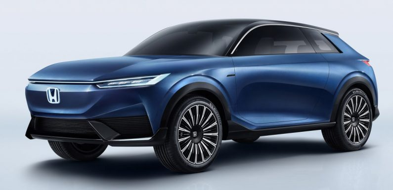 Honda SUV e:concept makes its debut at Beijing Motor Show – previews brand's first EV model for China – paultan.org