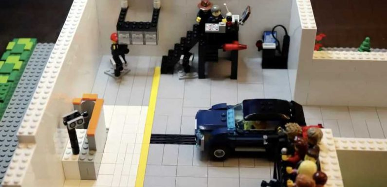 IIHS Engineer Creates the World's Most Accurate Lego Stop-Motion Crash Test
