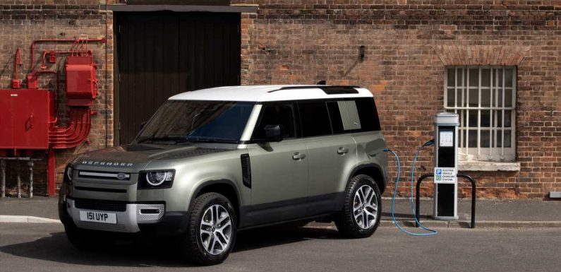 2021 Land Rover Defender P400e: The 398-HP Plug-In Hybrid Off-Roader You Want