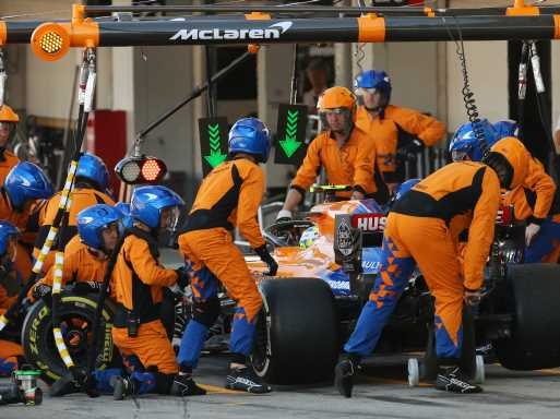 McLaren 'not where we want to be' with pit-stops   Planet F1